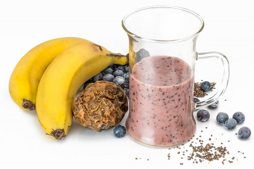 Super Simple Recipe For THC-Infused Blueberry Smoothies