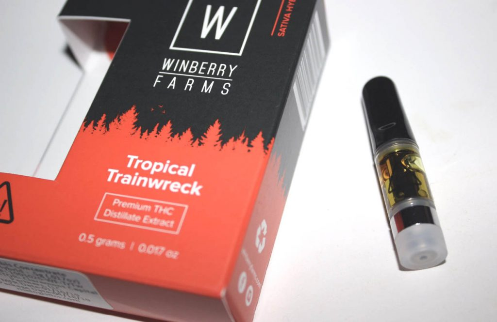 Tropical Trainwreck Cartridge - Green Line Delivery